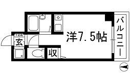 クリヨン宝塚[1階]の間取り