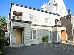 [テラスハウス] 北海道札幌市豊平区月寒西一条8丁目 の賃貸【/】の外観