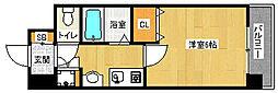 「プレサンス京都御所東」[5階]の間取り