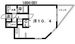 アルコローザ[2階]の間取り