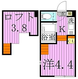 栄[2階]の間取り