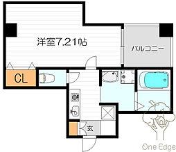 ディー・シモンズ梅田[3階]の間取り