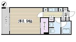 パークアクシス西ヶ原[305号室]の間取り