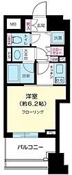 プライア渋谷[602号室号室]の間取り