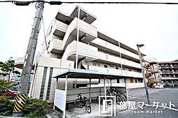 愛知県豊田市美山町4丁目の賃貸マンションの外観