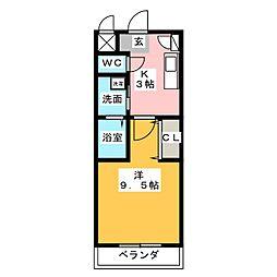 NVS[3階]の間取り