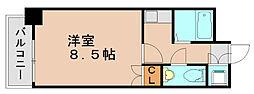 カーサ原田[2階]の間取り