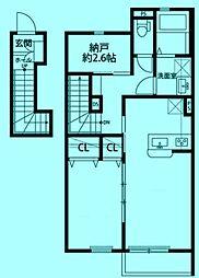 Dura Casa M[2階]の間取り