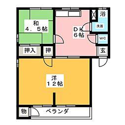 松岡ビル[3階]の間取り