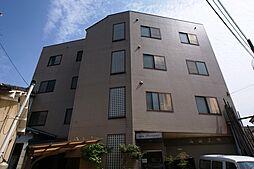 京都府宇治市五ケ庄野添の賃貸マンションの外観