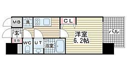 ララプレイス神戸西元町[9階]の間取り