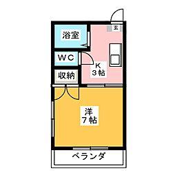 プチソレイユ[2階]の間取り