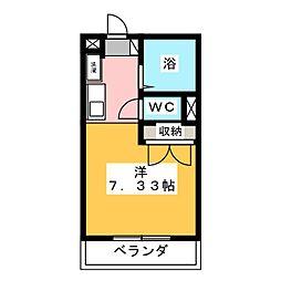 サンハイム松本[1階]の間取り