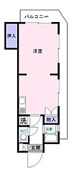 コンチェルトマンション[4階]の間取り