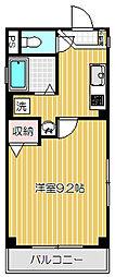 東京都目黒区目黒本町6丁目の賃貸マンションの間取り