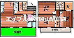 [一戸建] 岡山県岡山市中区原尾島4丁目 の賃貸【/】の間取り