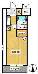 プレンディ船橋法典B棟[1階]の間取り