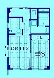 アプリコットハウス[3階]の間取り