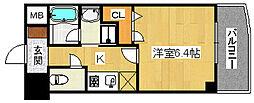 エルベコート堺東[2階]の間取り