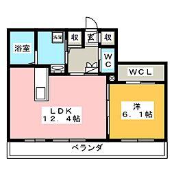仮)シャーメゾンガーデンズ西長瀬[1階]の間取り