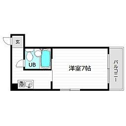 Y'sコート今福鶴見[6階]の間取り