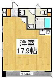レナジア東所沢[1階]の間取り