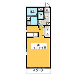 グッドホープ 1[1階]の間取り