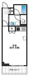 アクトフォルム江古田[6階]の間取り
