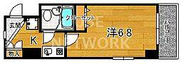 DETOM-1一条通[505号室号室]の間取り