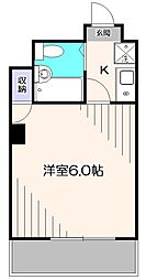 DKハイム[3階]の間取り