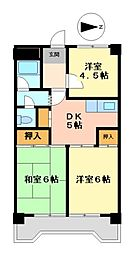 サンシャイン大須中駒ビル[3階]の間取り