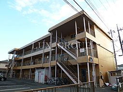 東京都羽村市小作台2丁目の賃貸マンションの外観