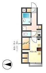 レオパレスセンチュリーII[2階]の間取り