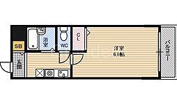 アーバンヨシダ2[4階]の間取り