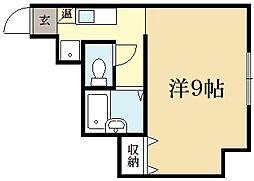 松三荘[1階]の間取り
