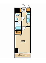 プラチナコート上野[8階]の間取り
