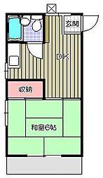 スワコーポ[1階]の間取り