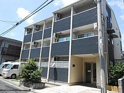 神奈川県横浜市鶴見区豊岡町の賃貸アパートの外観