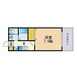 福大前駅 3.9万円