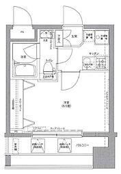 リクレイシア西横浜[803号室]の間取り