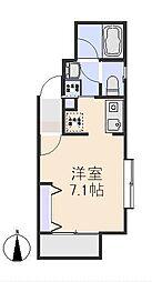 ライトフルマンション[4号室]の間取り