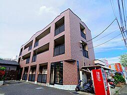 東京都東久留米市大門町2丁目の賃貸マンションの外観