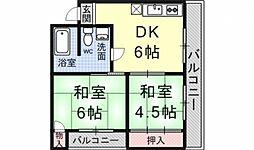 ロイヤルマンション[301号室号室]の間取り