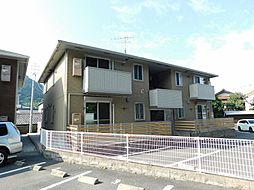 福岡県北九州市門司区大久保2丁目の賃貸アパートの外観