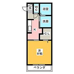 (仮称)D-room小木田町[3階]の間取り