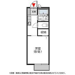 アクセス[106号室号室]の間取り