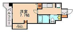 アクタス六本松タワー[9階]の間取り