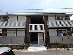 大阪府堺市東区日置荘西町4丁の賃貸アパートの外観