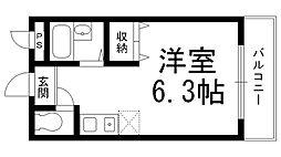 サンライズ柴田I[0400号室]の間取り