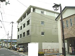 京都府城陽市寺田水度坂の賃貸マンションの外観